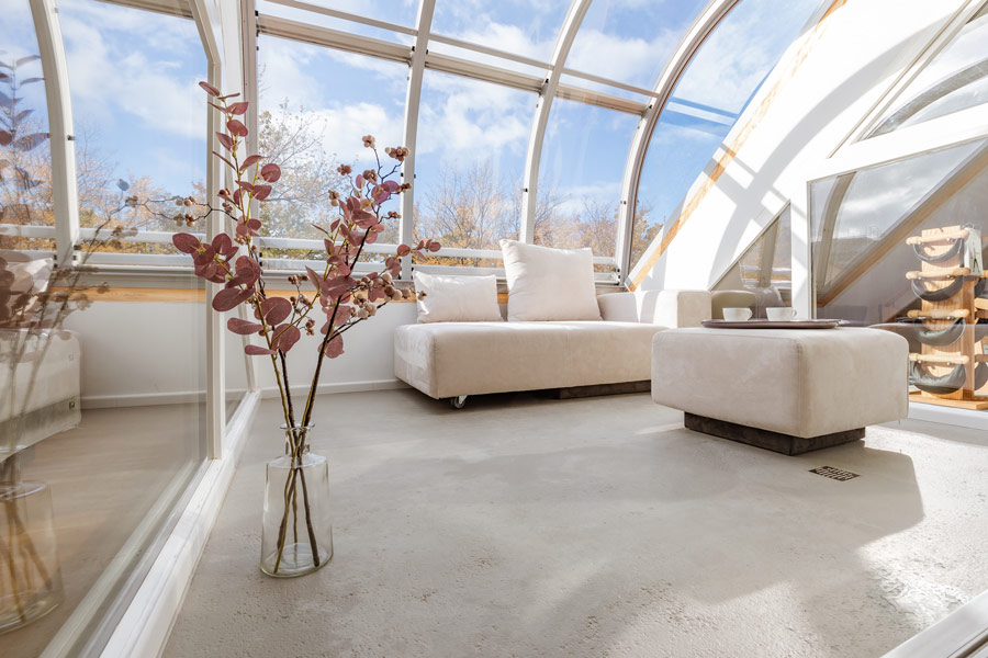 Velix Videokonferenzraum | Dachterrasse