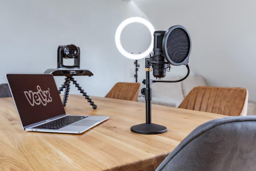 Velix Videokonferenzraum